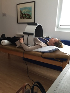 On the days when I was most restless, lying down for Pulsating Magnetic Field Therapy was a huge annoyance. I would be anxiously counting down the minutes until the machine would signal completion.