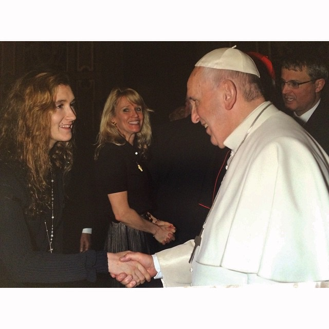 Frances meets Francis.